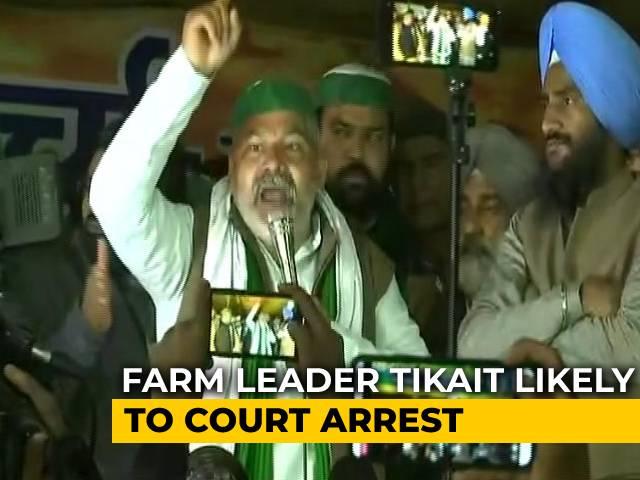 Video : Farmer Leaders Say Won't Vacate Delhi-UP Border Site