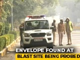 Video : Envelope Sent To Israel Embassy Official Being Probed Day After Blast