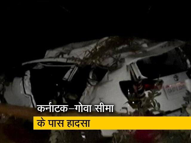 Videos : कर्नाटक में सड़क दुर्घटना में घायल हुए केंद्रीय मंत्री श्रीपद नाइक, पत्नी और करीबी की मौत