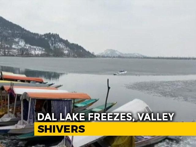 Video : Srinagar Records Coldest Night in 30 Years