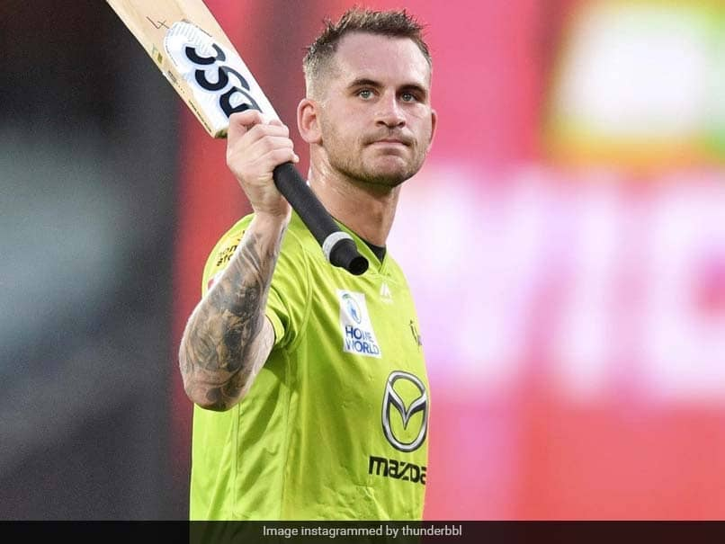 BBL 10: Alex Hales Not Thinking About England Recall At The Moment