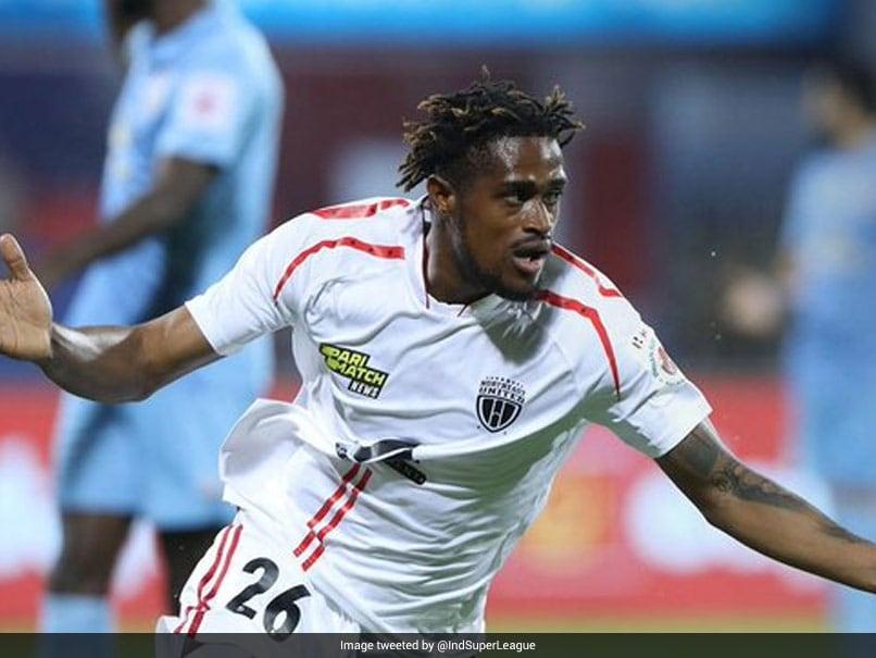 ISL: Deshorn Browns Brace Helps NorthEast United FC Beat Mumbai City FC 2-1