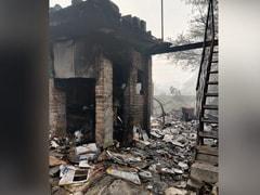 Three Killed In Fire At Scrap Shop In West Delhi