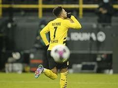 Bundesliga: Jadon Sancho Ends Goal Drought To Help Put Borussia Dortmund Back Into Title Race