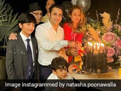 """More Sleep"": Birthday Wish For Serum's Adar Poonawalla From Wife Natasha"