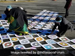 Biden-Harris Inauguration Event Kicks Off With Traditional Kolam Drawings