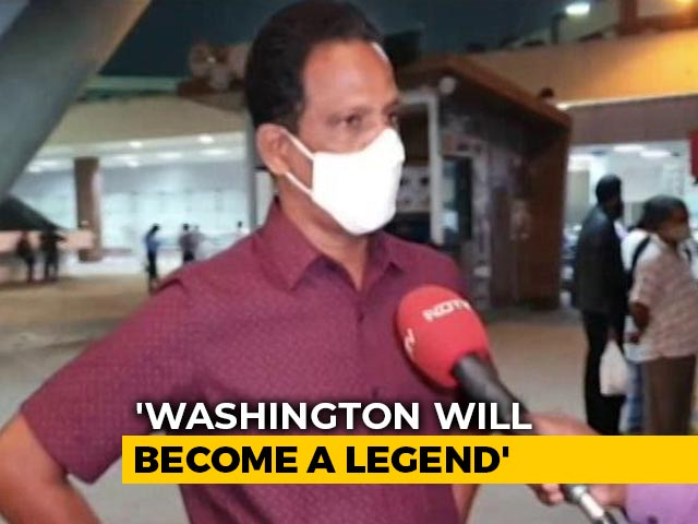 "Video : Washington Sundar ""Will Become A Legend"", Says Father"