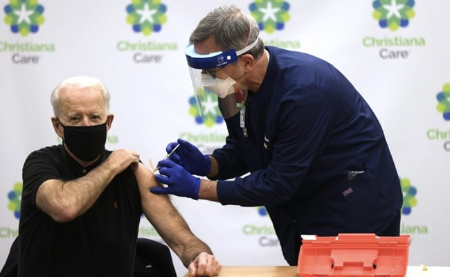 Joe Biden Receives Second Dose Of COVID-19 Vaccine