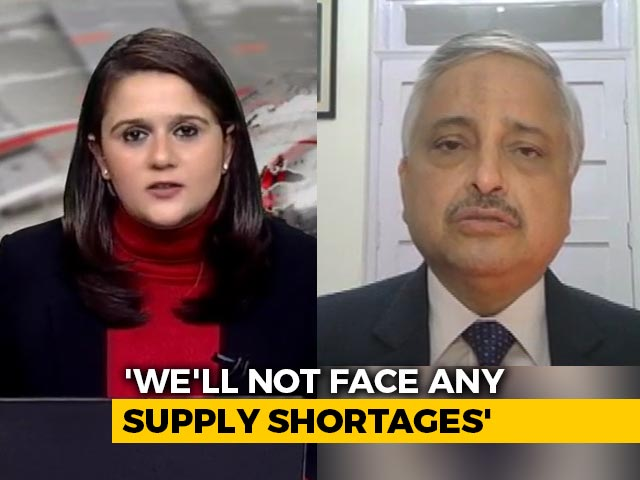 """Video : """"Bharat Biotech Vaccine Could Be Back-Up For Now,"""" Says AIIMS Chief"""