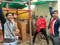 "Toilet Complex Demolished In UP Amid ""<i>Jai Shri Ram</i>"" Chants"