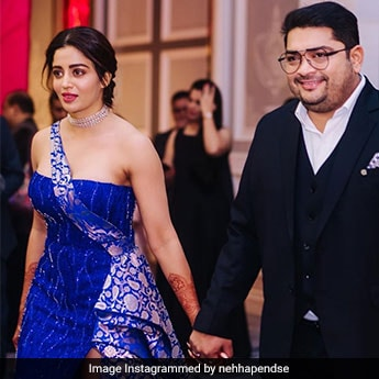 <i>Bhabhi Ji Ghar Par Hai</i> Star Nehha Pendse Celebrates A Year Of Marital Bliss