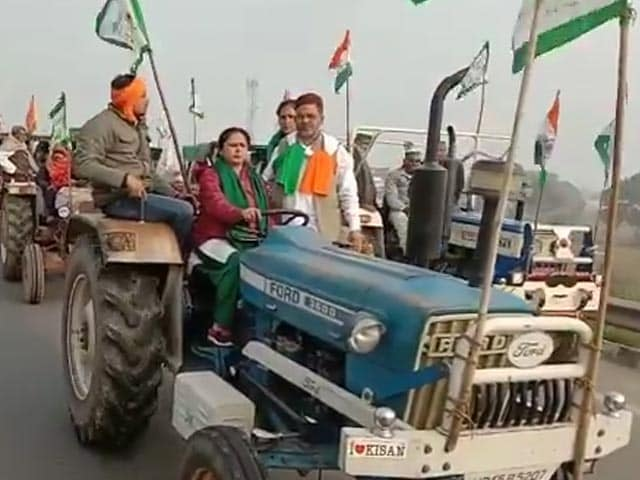Video : Women From UP On Their Way To Delhi To Join Farmers' Republic Day Rally