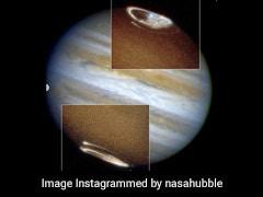 NASA ने जारी कीं बृहस्पति ग्रह की अद्भुत तस्वीरें, उत्तरी और दक्षिणी अरुणोदय देख हैरान रह जाएंगे आप