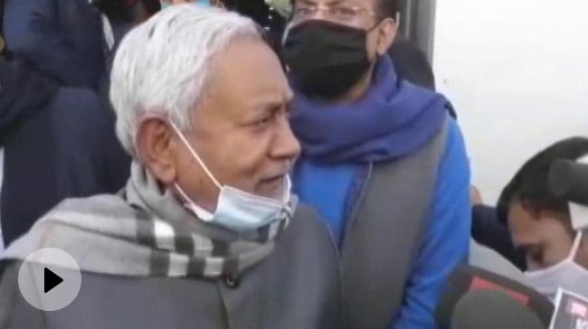 "Video | Nitish Kumar Wishes ""Speedy Recovery"" To Lalu Yadav, Refuses To Call"