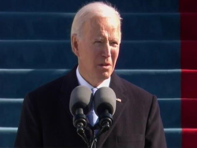 "Video : Joe Biden, New US President, Vows To End ""Uncivil War"""