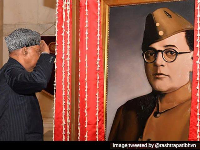 Video : Neta-<i>Ji</i> Or Actor Who Played Him? Row Over Rashtrapati Bhawan Portrait