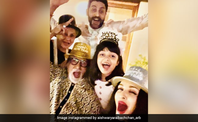 A Very Happy New Year From The Bachchans. See How They Welcomed 2021