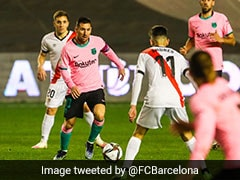 Copa del Rey: Lionel Messi Marks Return With Goal As Barcelona Come From Behind To Beat Rayo Vallecano