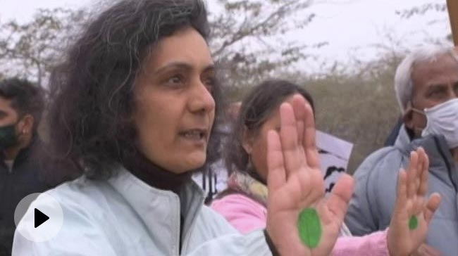 Video | 'No Trees Left': Gurgaon Residents Protest Against Waste-To-Energy Plant