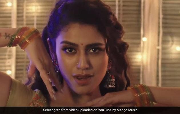प्रिया प्रकाश वारियर का 'लाडी लाडी' सॉन्ग हुआ रिलीज, Video में डांस करती नजर आईं एक्ट्रेस