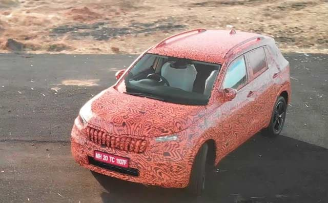 Skoda Kushaq SUV Prototype First Look