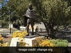 FBI Urged To Probe Desecration Of Mahatma Gandhi's Statue As Hate Crime