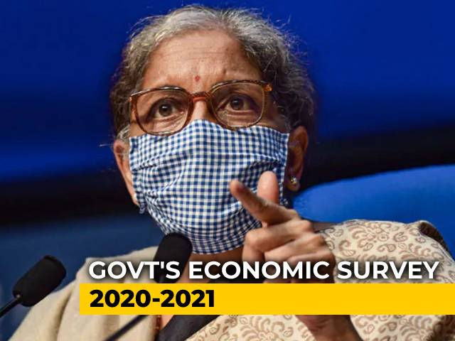 Video : India Cruising Towards 'V-Shaped' Recovery: Economic Survey 2020-21