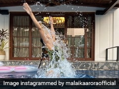 Malaika Arora ने यूं पानी में छलांग लगाकर 2020 को किया अलविदा, सोशल मीडिया पर Viral हुई Photo