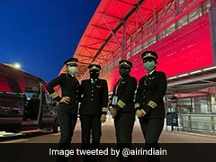 Air India's All-Women Cockpit Crew Completes Historic 17-Hour Flight To Bengaluru