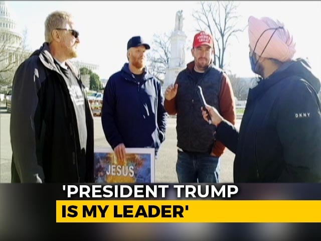 "Video : ""We Won't Trust Elections If Biden Gets Elected"": Trump Supporter"