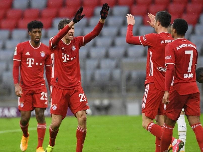 Bayern Munich vs Hoffenheim: Bayern Munich Go 10 Points Clear In Bundesliga