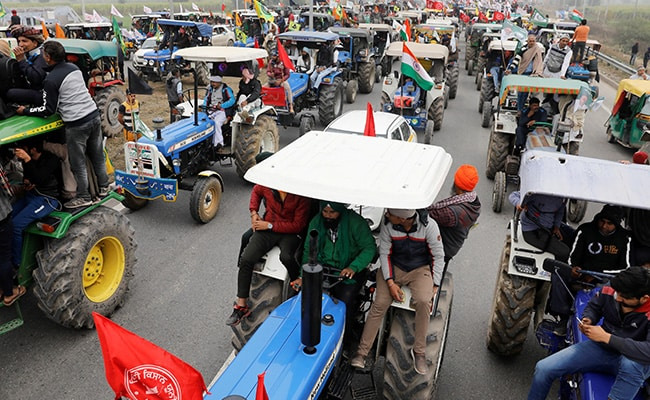 AAP Punjab MLAs To Move Towards Delhi On Tractors To Support Farmers