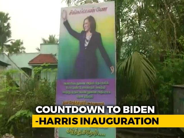 Video : Kamala Harris's Ancestral Village Gears Up For Her Swearing-In