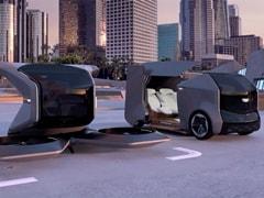 General Motors Unveils Futuristic Flying Cadillac Concept Vehicle