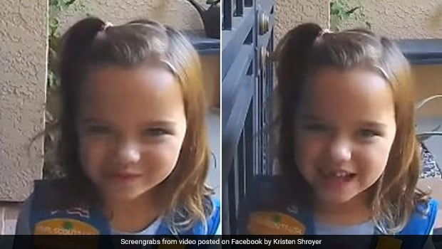 Viral Video: Little Girl's Adorable Cookie-Selling Pitch Wins Hearts Online