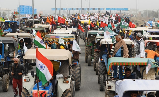 May Not Get Nod For Tractor Rally On Ring Road, Won't Back Down: Farmers