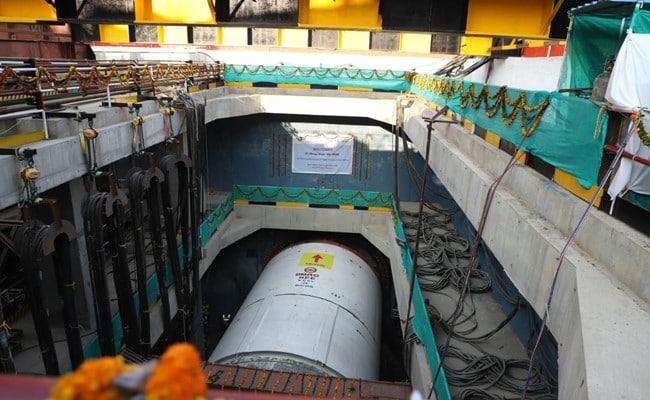 Tunneling Drive For Delhi Metro's Janakpuri West-R K Ashram Marg Corridor Started
