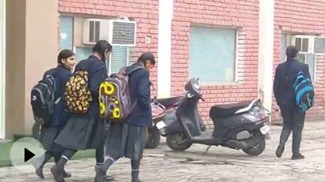 Video | Delhi Schools Reopen Today For Classes 10, 12
