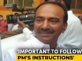 Video : Telangana Minister Decides Against Taking First Covid Shot After PM Warning