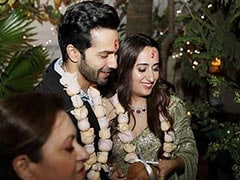 ICYMI: Pics From Varun Dhawan And Natasha Dalal's <i>Roka</i> Ceremony