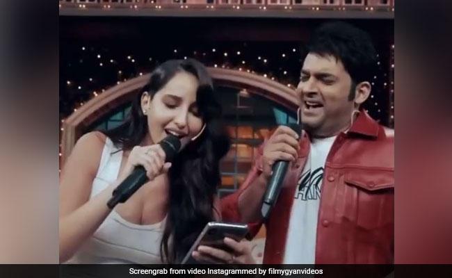 नोरा फतेही ने कपिल शर्मा के साथ गाया अरेबिक सॉन्ग, देखें कमाल का Video
