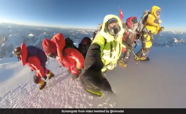 In Powerful Video, Nepal Climbers Take Final Steps Together To Summit K2