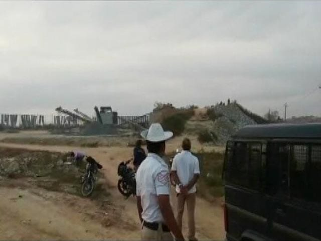 Video : Area Sealed After Explosion In Quarry At Karnataka's Shivamogga