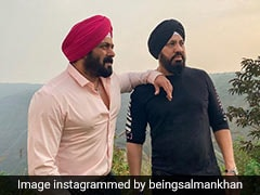 Salman Khan ने बॉडीगार्ड शेरा के साथ शेयर की फोटो, बोले- वफादारी...