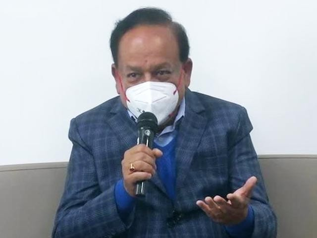 Video : Fight Against COVID Is Already On Its Road To Victory: Dr Harsh Vardhan
