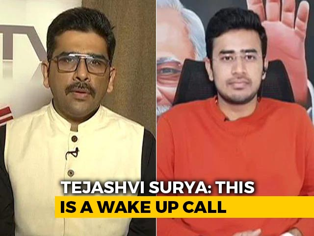 "Video : ""Centre Must Fix Accountability To Social Media Intermediaries"": Tejasvi Surya"