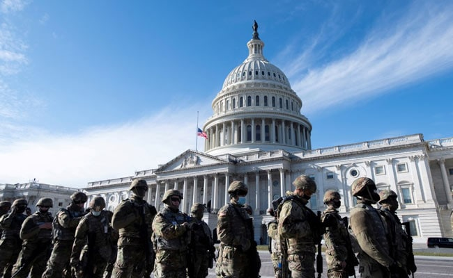 12 US Guard Troops Pulled From Joe Biden Inauguration After Far-Right Probe