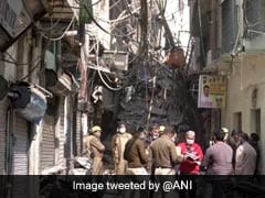 4-Storey Building Collapses In Delhi, None Hurt