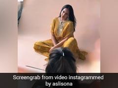 Sonakshi Sinha ने एक पैर पर खड़े होकर यूं कराया फोटोशूट, वायरल हुआ Video