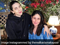 Kareena And Karisma Kapoor Had The 'Best Meal Ever' For Lunch; See Pics